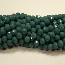 jssw0500-ron-08x10 apie 8 x 10 mm, rondelės forma, melsvai žalia spalva, apie 72 vnt.