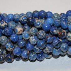 jsvar16-apv-12 apie 12 mm, apvali forma, mėlyna spalva, variscitas, apie 32 vnt.