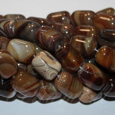 jskaa0500-cil2-18x13 apie 18 x 13 mm, cilindro forma, marga, rusva spalva, agatas, apie 22 vnt. 2