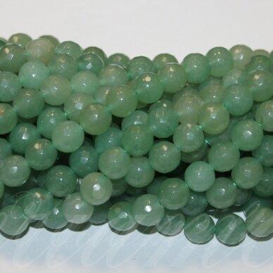 jskaav-zal-apv-br-04 apie 4 mm, apvali forma, briaunuotas, žalias avantiurinas, apie 92 vnt.