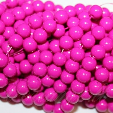 jsstik0119-apv-10 about 10 mm, round shape, pink color, about 80 pcs.
