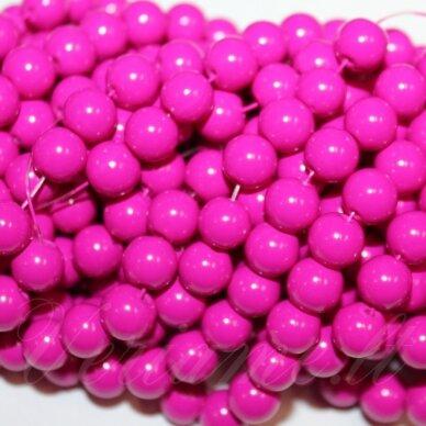 jsstik0119-apv-10 apie 10 mm, apvali forma, rožinė spalva, apie 80 vnt.