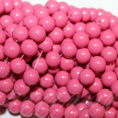 jsstik0141-apv-10 apie 10 mm, apvali forma, rožinė spalva, apie 80 vnt.