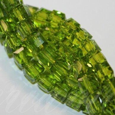 jssw0026gel-kub1-06x6 apie 6 x 6 mm, kubo forma, skaidrus, samaninė spalva, apie 100 vnt.