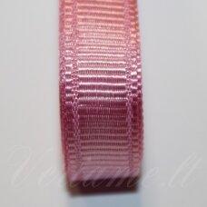 jts0019 apie 20 mm, rožinė spalva, satino juostelė, 10 m.