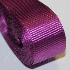 jts0034 apie 20 mm, violetinė spalva, satino juostelė, 10 m.