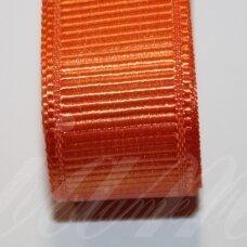 jts0046 apie 10 mm, oranžinė spalva, satino juostelė, 10 m.