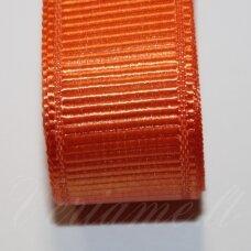 jts0046 apie 20 mm, oranžinė spalva, satino juostelė, 1 m.
