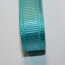 jts0066 apie 20 mm, žydra spalva, satino juostelė, 1 m.