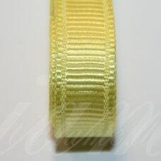 jts0082 apie 10 mm, geltona spalva, satino juostelė, 10 m.