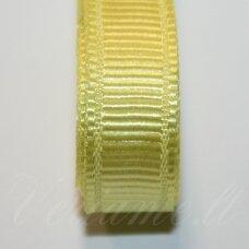 jts0082 apie 20 mm, geltona spalva, satino juostelė, 1 m.