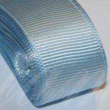 jts0091 apie 10 mm, šviesi, mėlyna spalva, satino juostelė, 10 m.