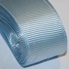 jts0091 apie 20 mm, šviesi, mėlyna spalva, satino juostelė, 10 m.