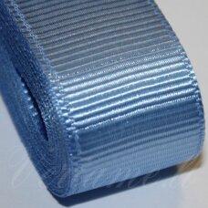 jts0093 apie 20 mm, šviesi, mėlyna spalva, satino juostelė, 10 m.