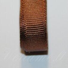 jts0180 apie 20 mm, ruda spalva, satino juostelė, 1 m.