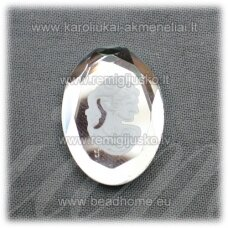 k86 about 25 18 x 5 mm, cameo, 1 pc.