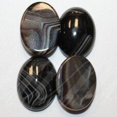 kab-kaa0010-oval-18x13 apie 18 x 13 mm, ovalo forma, agatas, kabošonas, 1 vnt.