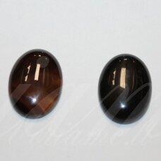 kab-kaa0012-oval-25x18 apie 25 x 18 mm, ovalo forma, agatas, kabošonas, 1 vnt.