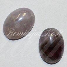 kab-kaam-oval-10x8 apie 10 x 8 mm, ovalo forma, ametistas, kabošonas, 1 vnt.