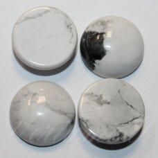 KAB-KAH-DISK-10 apie 10 mm, disko forma, hovlitas, kabošonas, 1 vnt.