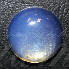 KAB-KAOP-DISK-10 apie 10 mm, disko forma, opalitas, kabošonas, 1 vnt.