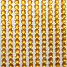 kla0013 eyes diameter 4 mm, yellow color, glued acrylic eye, 45 strips of 22 pcs.