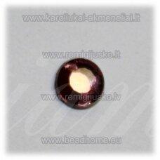 klp0017 apie 5 x 2 mm, alyvinė spalva, klijuojama akrilinė akutė, apie 95 vnt.