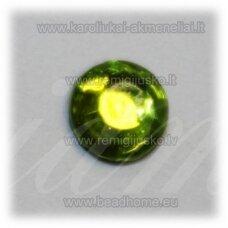 klp0023 apie 5 x 2 mm, salotinė spalva, akrilinė akutė, apie 85 vnt.