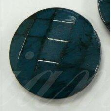 kpv0572 apie 35 x 10 mm, disko forma, plastikinis karoliukas, 1 vnt.