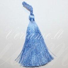 kut0003 about 11 cm, blue color, tassel, 1 pc.
