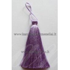 kut0012 about 11 cm, light, purple color, tassel, 1 pc.