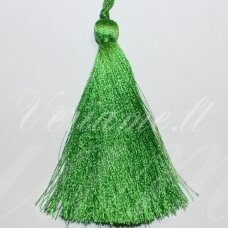 kut0043 about 7 cm, green color, tassel, 1 pc.