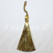 kuts0077 apie 7 cm, auksinė spalva, kutas, 1 vnt.