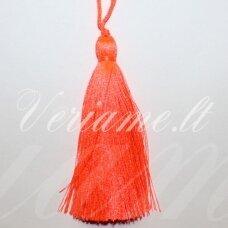 kut0080 about 11 cm, bright, orange color, tassel, 1 pc.