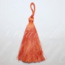 kut0088 about 7 cm, orange color, tassel, 1 pc.