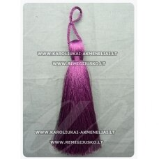kut0094 about 11 cm. dark, lilac color, tassel, 1 pc.