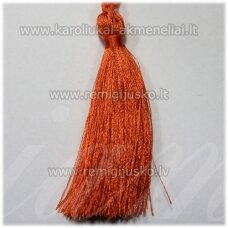 kut0119 about 7 cm, orange color, tassel, 1 pc.