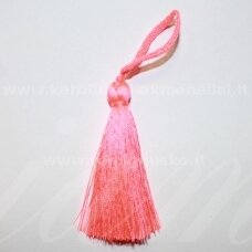 kuts0128 apie 7 cm, ryški, rožinė spalva, kutas, 1 vnt.
