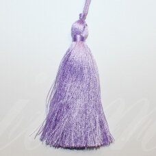 kut0140 about 7 cm, light, purple color, tassel, 1 pc.
