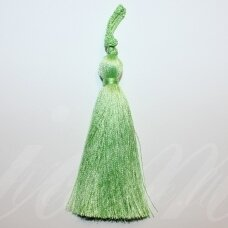 kut0141 about 7 cm, light, green color, tassel, 1 pc.