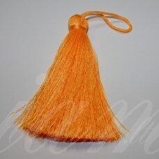 kut5017 about 11 cm, bright, orange color, tassel, 1 pc.