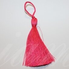 kut5032 about 11 cm, dark, pink color, tassel, 1 pc.