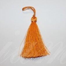 kut5038 about 7 cm, orange color, tassel, 1 pc.