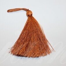 kut5039 about 7 cm, brown color, tassel, 1 pc.