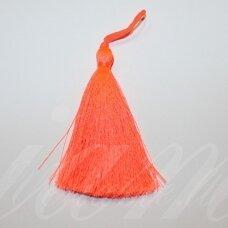 kut5043 about 7 cm, bright, orange color, tassel, 1 pc.