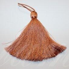 kut5049 about 11 cm, light brown color, tassel, 1 pc.