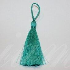 kuts0138-07 apie 7 cm, melsvai žalia spalva, kutas, 1 vnt.