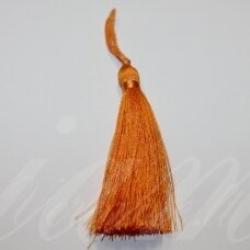 kuts0618 apie 7 cm, oranžinė spalva, kutas, 1 vnt.