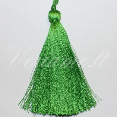 kut0043 apie 7 cm, žalia spalva, kutas, 1 vnt.