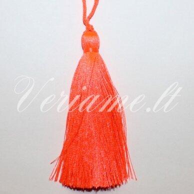 kut0080 apie 11 cm, ryški, oranžinė spalva, kutas, 1 vnt.